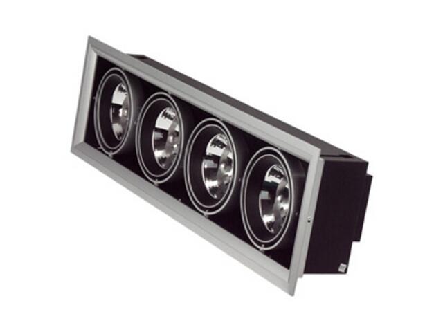 Lampa sufitowa wbudowywana 4x50W G53 NDL 504 szara ANS