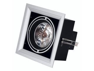 Lampa sufitowa wbudowywana 50W G53 NDL 501 szara ANS