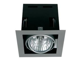 Lampa sufitowa LAVIO S srebrna Brilum