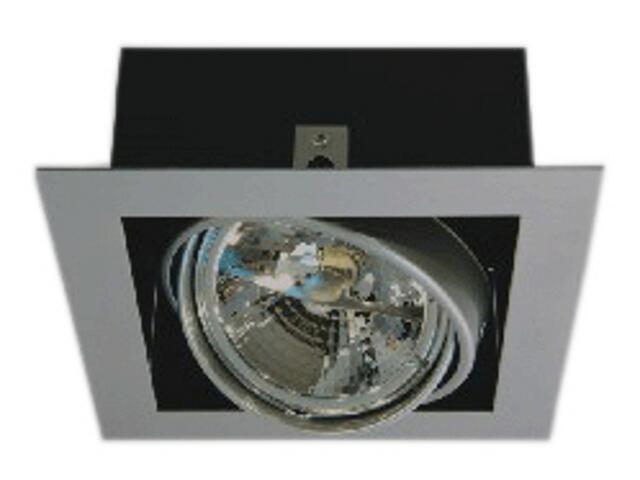 Lampa sufitowa sufitowa PASEO 100 szara Brilum