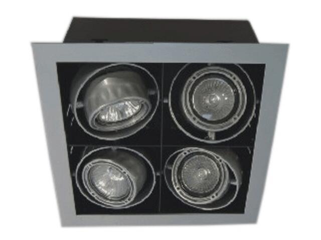 Lampa sufitowa TONGO 400A szara Brilum
