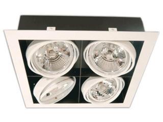 Lampa sufitowa sufitowa PASEO 400 biała Brilum