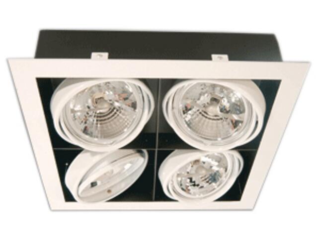 Lampa sufitowa sufitowa PASEO 400 szara Brilum