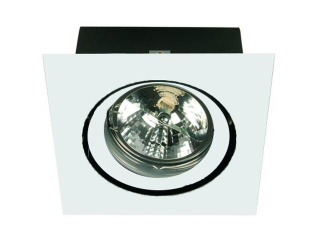 Lampa sufitowa EQUAN 11C 1x50W biała Elgo