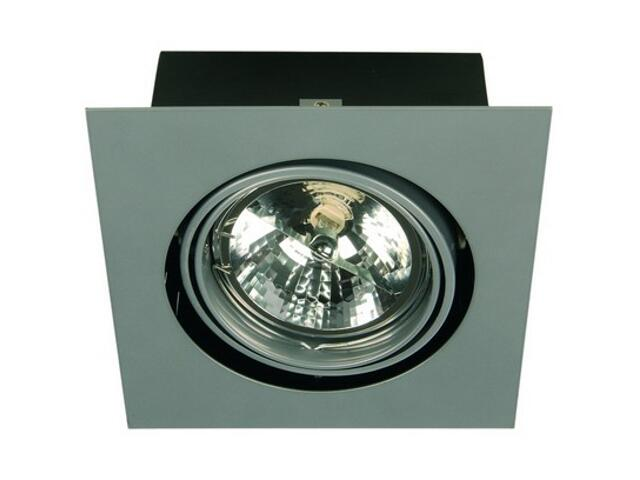 Lampa sufitowa EQUAN 11C 1x50W szara Elgo