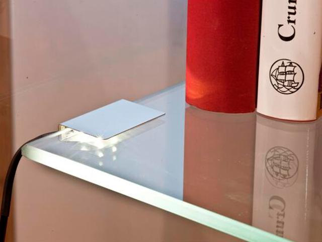 Oprawa podszafkowa 2 clipsów do szklanych półek 2x0,24W LED 79062021 Reality