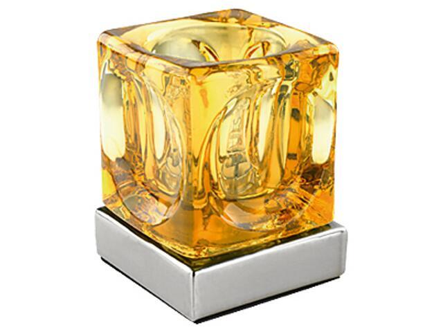 Lampa stołowa KOSTKA bursztyn 1041 Nowodvorski