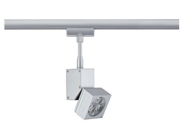 Oprawa do systemów szynowych LEDmanz1 do Urail 1x3W 230V chrom mat metal Paulmann