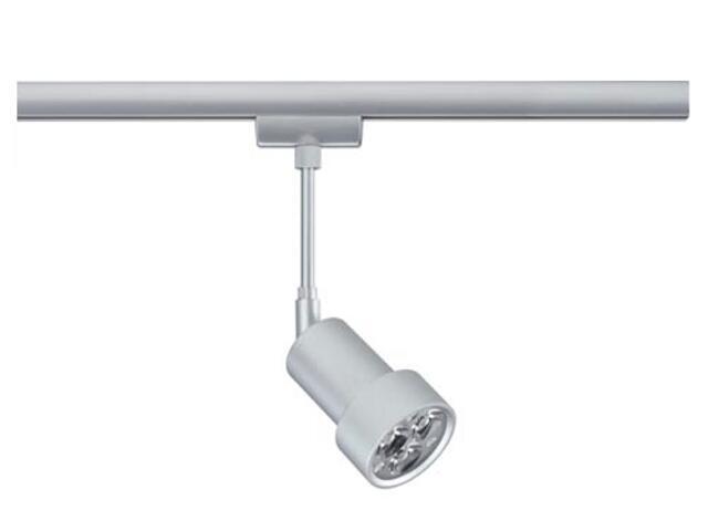 Oprawa do systemów szynowych LEDmanz2 do Urail 1x3W 230V chrom mat metal Paulmann