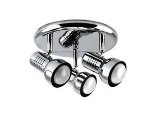Lampa sufitowa ATHOS 3x40W E14 1523B-3R/R50 srebrna ANS