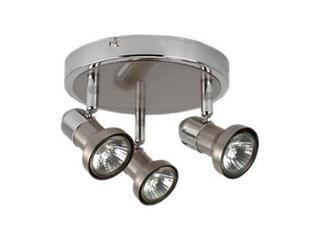 Lampa sufitowa FRYDA 3x50W GU1044-3R srebrna ANS