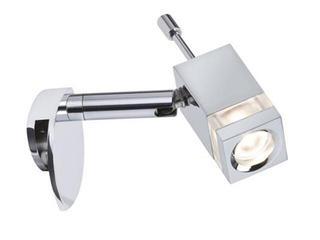 Galeryjka Quadro LED na lustro 1x3W chrom Paulmann