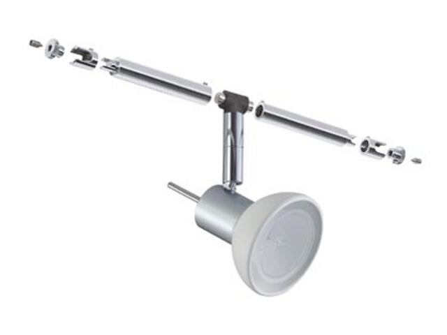 Oprawa do systemów linkowych Combi Sheela 1x35W chrom opal Paulmann