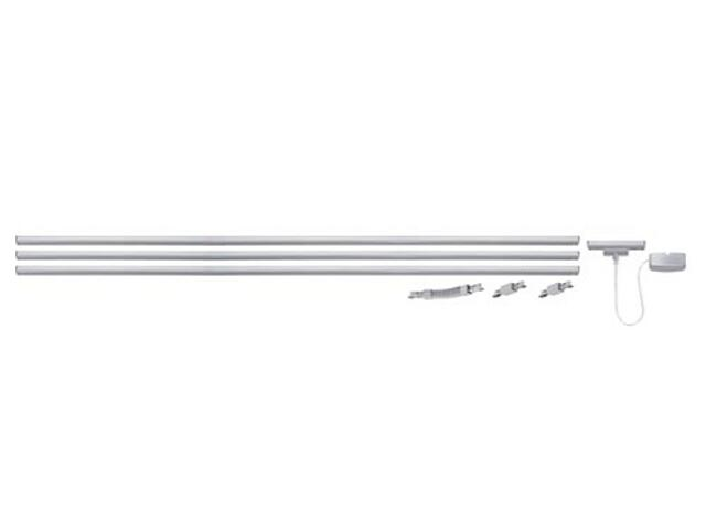 System prętowy URail max. 1000W chrom mat 230V Paulmann
