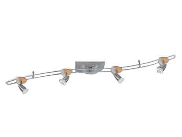 "Kompletny system prętowy Hip ""S"" 105VA nikiel satynowy buk Paulmann"