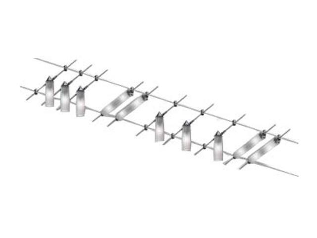System linkowy Pipeline 200 chrom aluminium szkło 6x20W 8x10W Paulmann