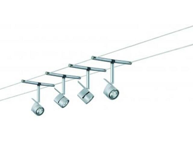 System linkowy MiniPower 4x35W GU4 chrom mat Paulmann