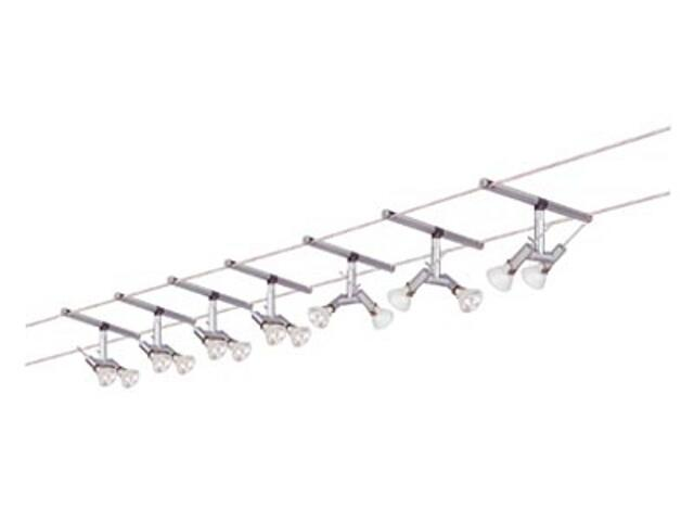 System linkowy Spice Ginger 7x(2x20W) GU4 aluminium Paulmann