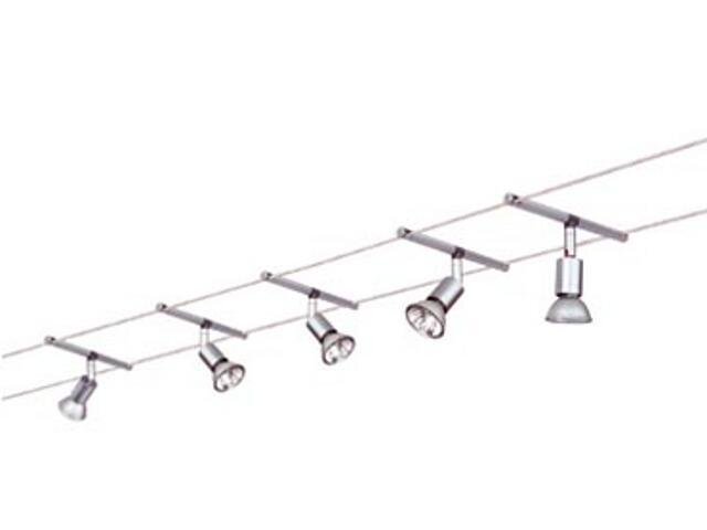 System linkowy Spice Salt 5x20W GU5,3 aluminium Paulmann