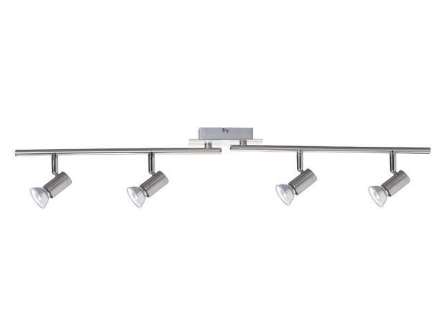 Kompletny system prętowy 4x50W GU10 żelazo satyna Paulmann