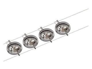 System linkowy Powerline 4x50W GU5,3 chrom Paulmann
