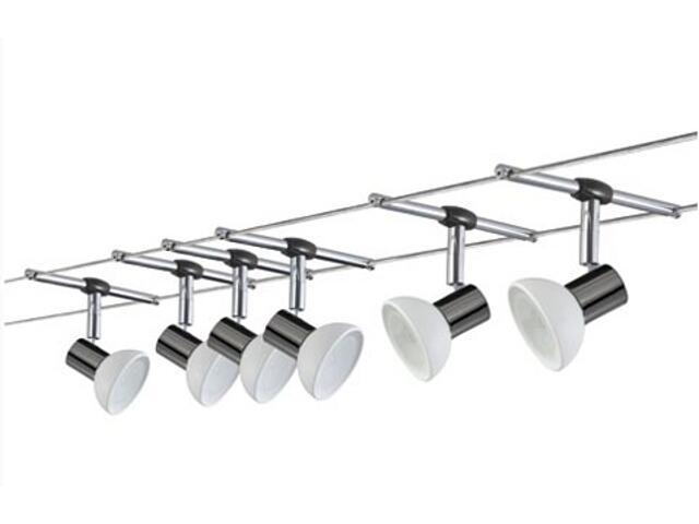 System linkowy Sheela 6x35W GU5,3 czarno-biały Paulmann
