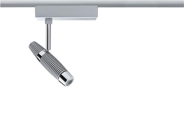 Oprawa do systemów szynowych Channel LED spot 1x10W chrom mat Paulmann