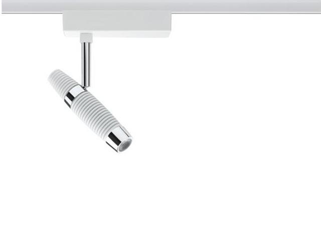 Oprawa do systemów szynowych Channel LED spot 1x10W biała chrom Paulmann