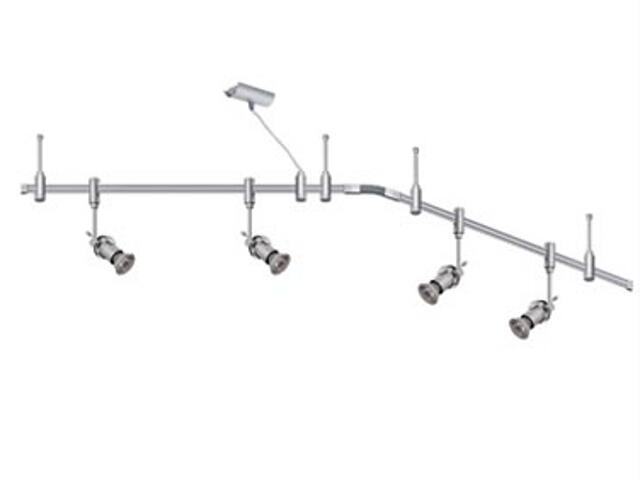 System szynowy Phantom Philomene 4x50W GU10 2m tytan Paulmann