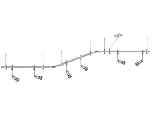 System szynowy Phantom Phyllis 6x50W GU10 3m tytan Paulmann