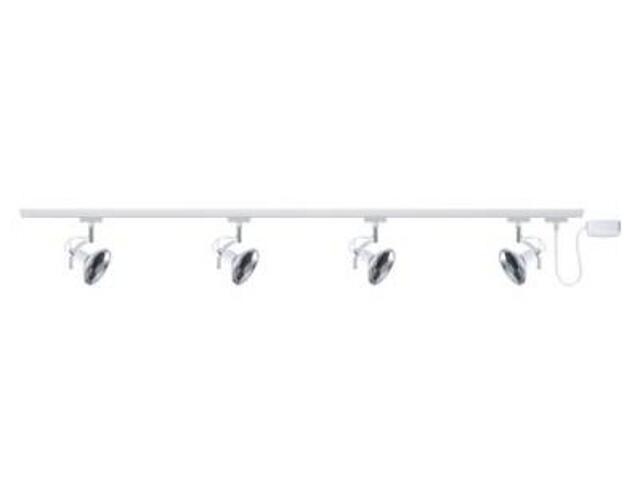 System szynowy URail Roncalli 4x50W GU10 biały Paulmann