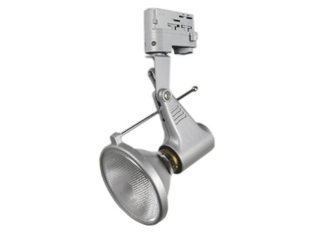 Oprawa do systemów szynowych SCENA PR38 srebrna Brilum