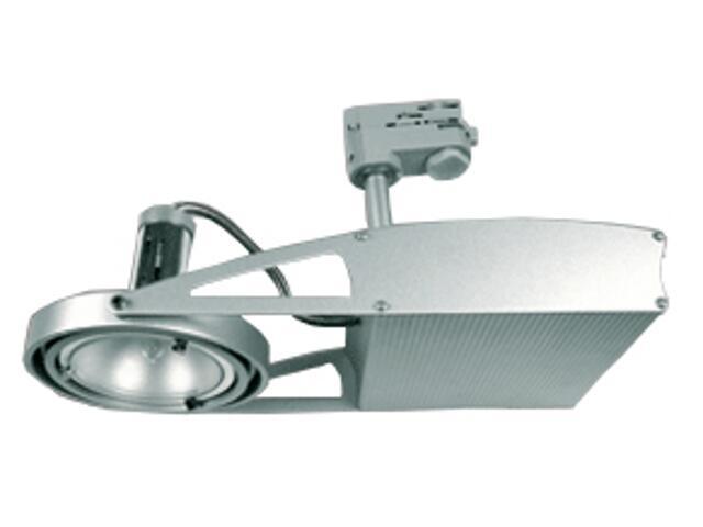 Oprawa do systemów szynowych FUSIO S41H G8,5 45W srebrna Brilum