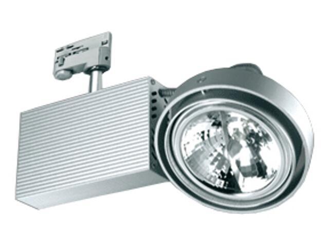 Oprawa do systemów szynowych FUSIO S51H G53 50W srebrna Brilum