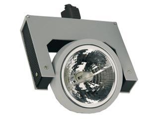 Oprawa do systemów szynowych LUME E10H G53 50W srebrna Brilum