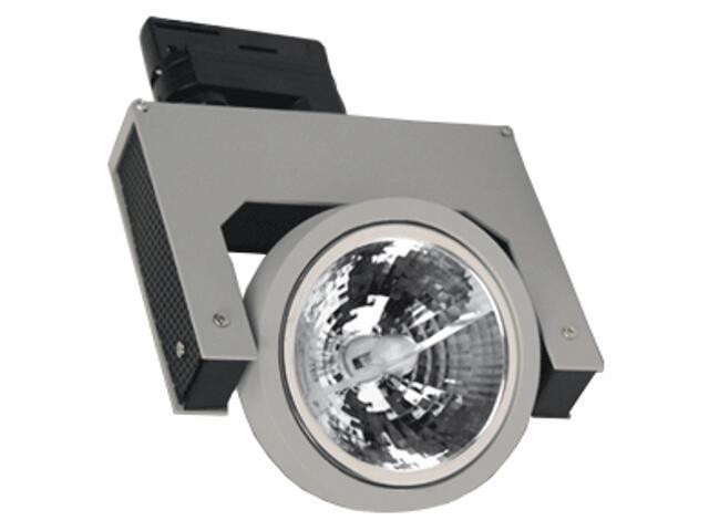 Oprawa do systemów szynowych LUME S10H G53 50W srebrna Brilum