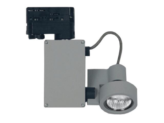 Oprawa do systemów szynowych LUME S60H MR16 50W srebrna Brilum