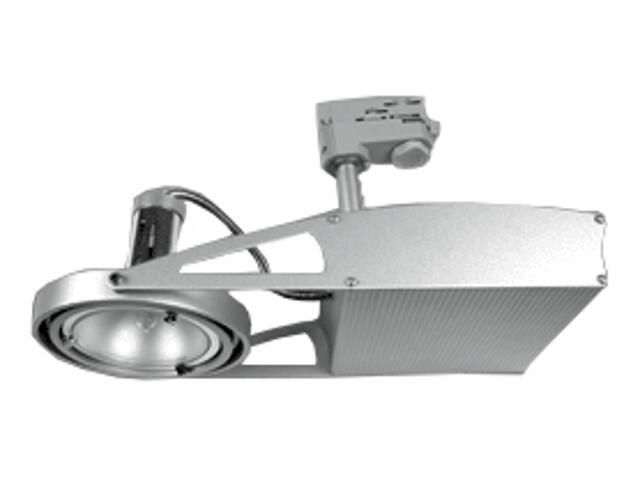 Oprawa do systemów szynowych FUSIO S41X G8,5 35W srebrna Brilum