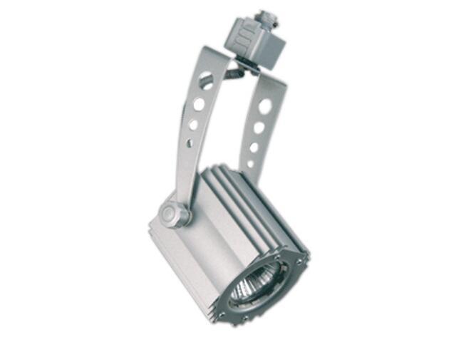 Oprawa szynowa ESTRA 10A srebrna Brilum