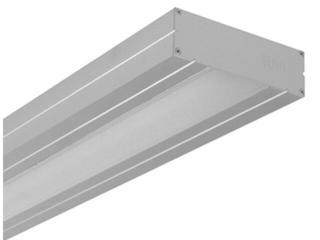 System świetlówkowy TORENO 228D 2x28W dyfuzor UN szary Elgo