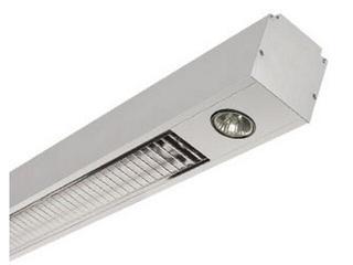 System oświetleniowy świetlówkowy PREVIA 221VEH 2x50W szary Elgo
