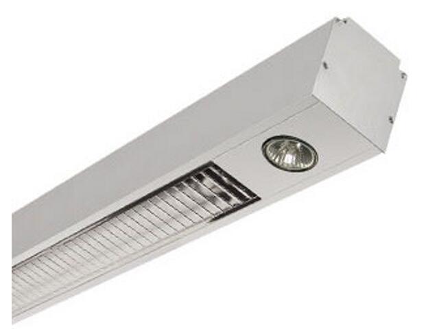 System oświetleniowy świetlówkowy PREVIA 228VEH 2x50W szary Elgo