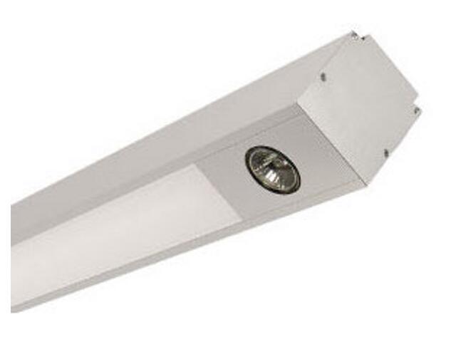 System oświetleniowy świetlówkowy PREVIA 228DEH 2x50W szary Elgo
