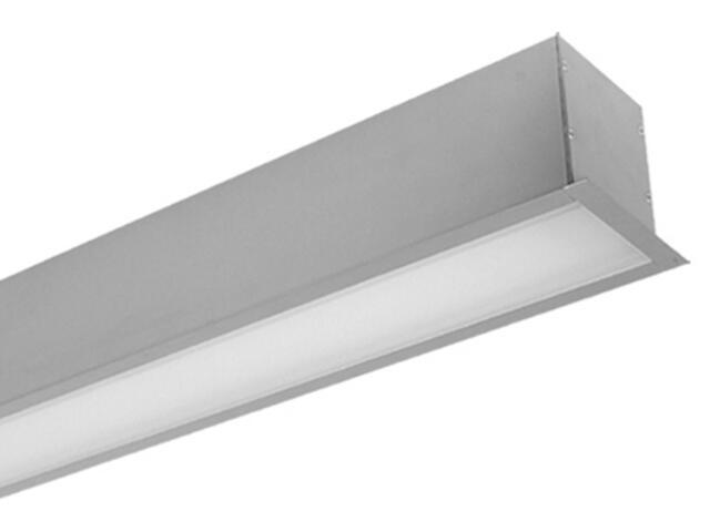 System świetlówkowy PREVIA TOP 228DE do wbudowania 2x28W szary Elgo