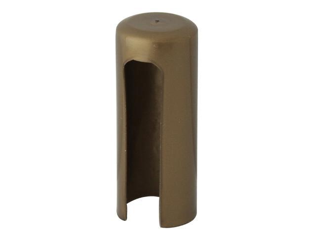 Osłonka zawiasu 13,5x80 M3 brąz gafiatto tworzywo Domino