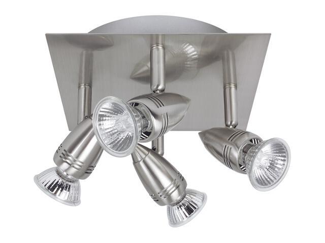 Lampa sufitowa 4x50W GU10 nikiel Paulmann