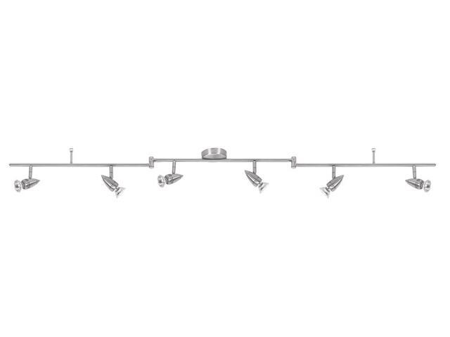 Lampa sufitowa listwa ruchoma łamana 6x50W GU10 nikiel Paulmann