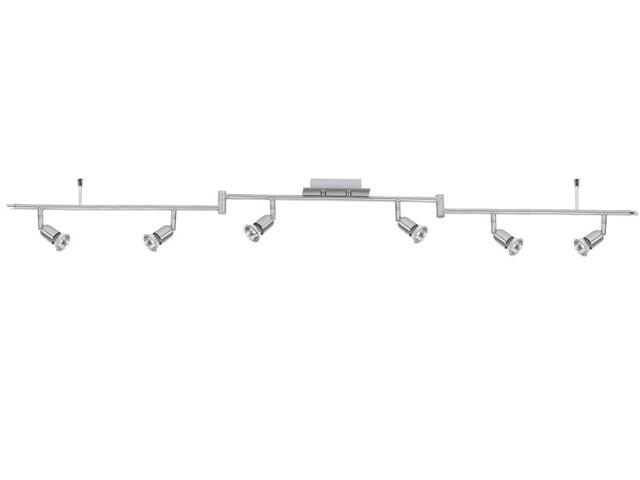 Lampa sufitowa listwa ruchoma 6x50W GU10 nikiel Paulmann