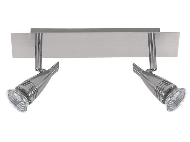 Lampa sufitowa listwa 2x50W 310mm GU10 nikiel Paulmann