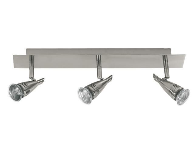 Lampa sufitowa listwa 3x50W GU10 nikiel Paulmann